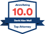 Avvo Rating - 10.0 - Top Attorney