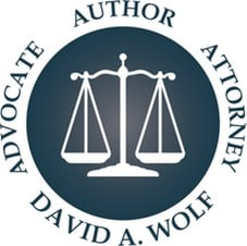 Badge Advocate Author Attorney